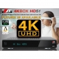 Preview: AX 4K-BOX HD51 UHD 2160p E2 Linux Receiver mit 1x Sat (DVB-S2) Tuner