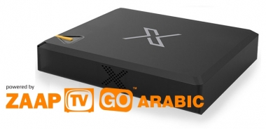 ZaapTV X HD IPTV Mediaplayer mit 24 Monate Prepaidabo Arabisches TV