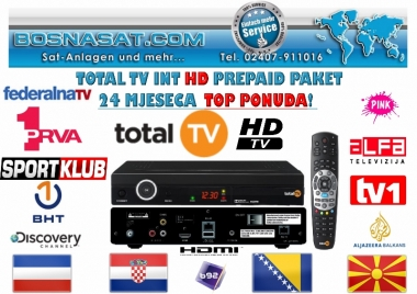 Total TV International Abo Paket,TotalTv-International-HD