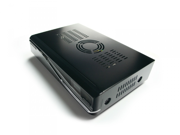 Dream Multimedia Dreambox 800HD SE V2 DVB-S2 HD Receiver PVR HDD Ready schwarz