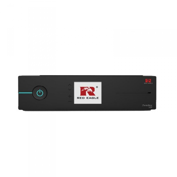 Red Eagle TwinBox LCD E2 Linux Receiver mit 2x Sat Tuner