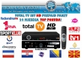 TotalTv International HD Prepaid 24+1 Monate mit HD Receiver